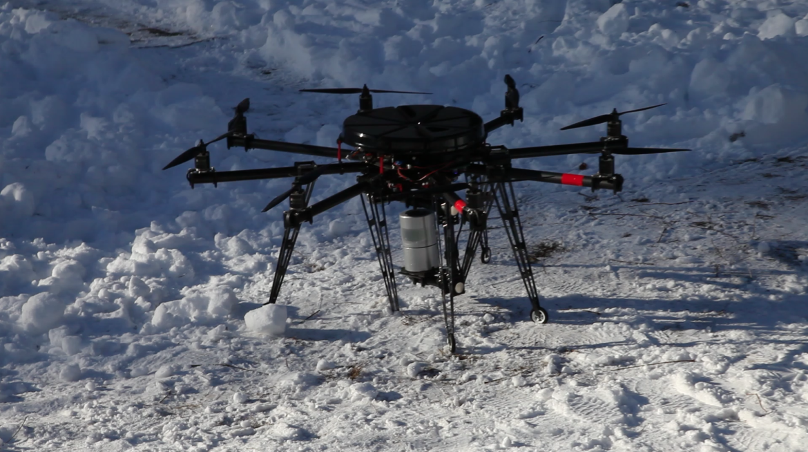 The wold´s first GPS-free UAV LIDAR mapping and surveying