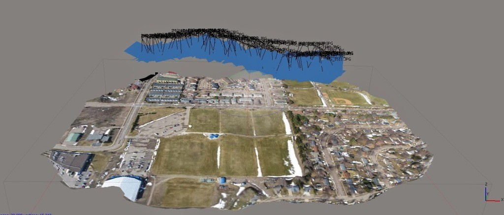 The best 3D mapping for UAV applications | Vespadrones Drone D Mapping on