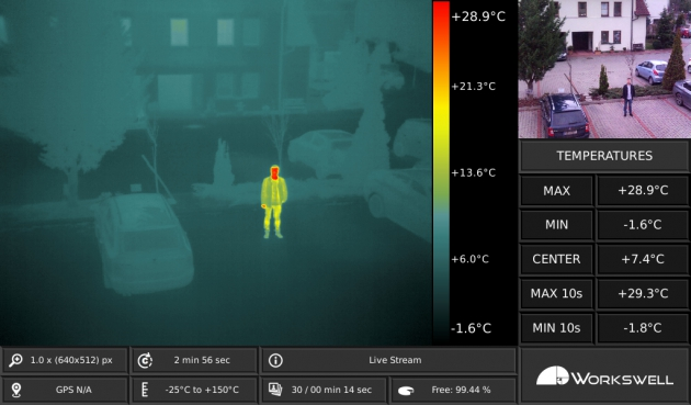 thermographic drone with camera with Workswell Wiris 336 X 256 Resolution on In Ehingen further Workswell Wiris 336 X 256 Resolution also JanSova besides Drones In Utilities And Renewables Sectors additionally Thermal Drones.