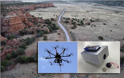 drones in archeology